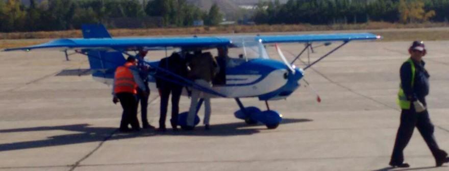 Petrel en Aeroclub Neuquén