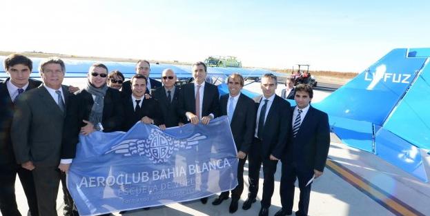 Un nuevo petrel para el aeroclub bah a blanca fada for Ministerio del interior y transporte de la nacion