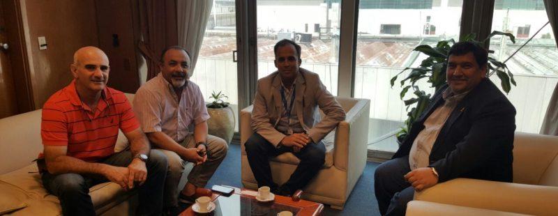Audiencia con el Director de la Región Aérea Centro.