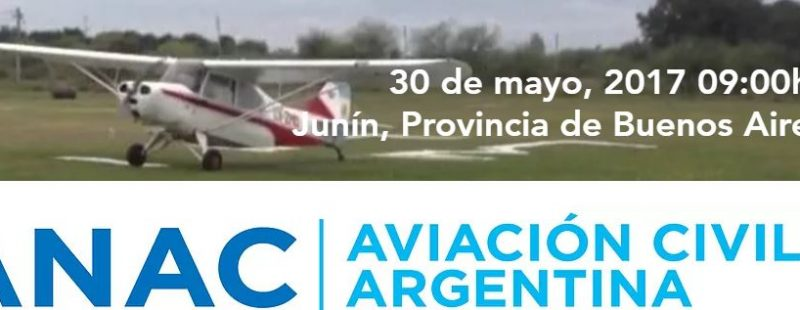 Taller de ANAC, sobre Seguridad Operacional. Junín, Provincia de Buenos Aires.