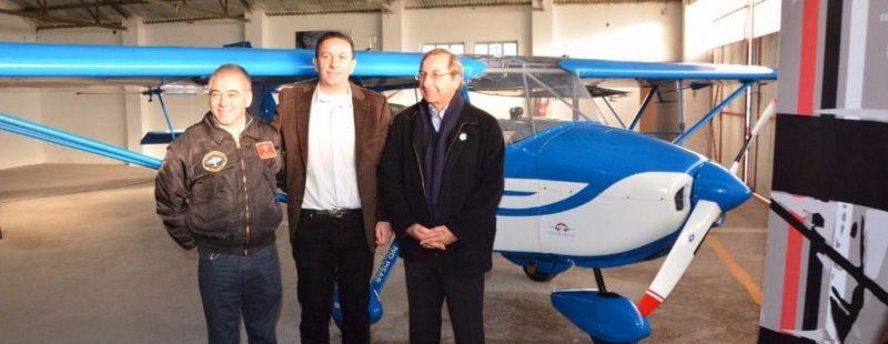 Invitados por ANAC, FADA participó del acto de reasignación de una Aeronave Petrel 912i, al AC Trelew (Chubut)